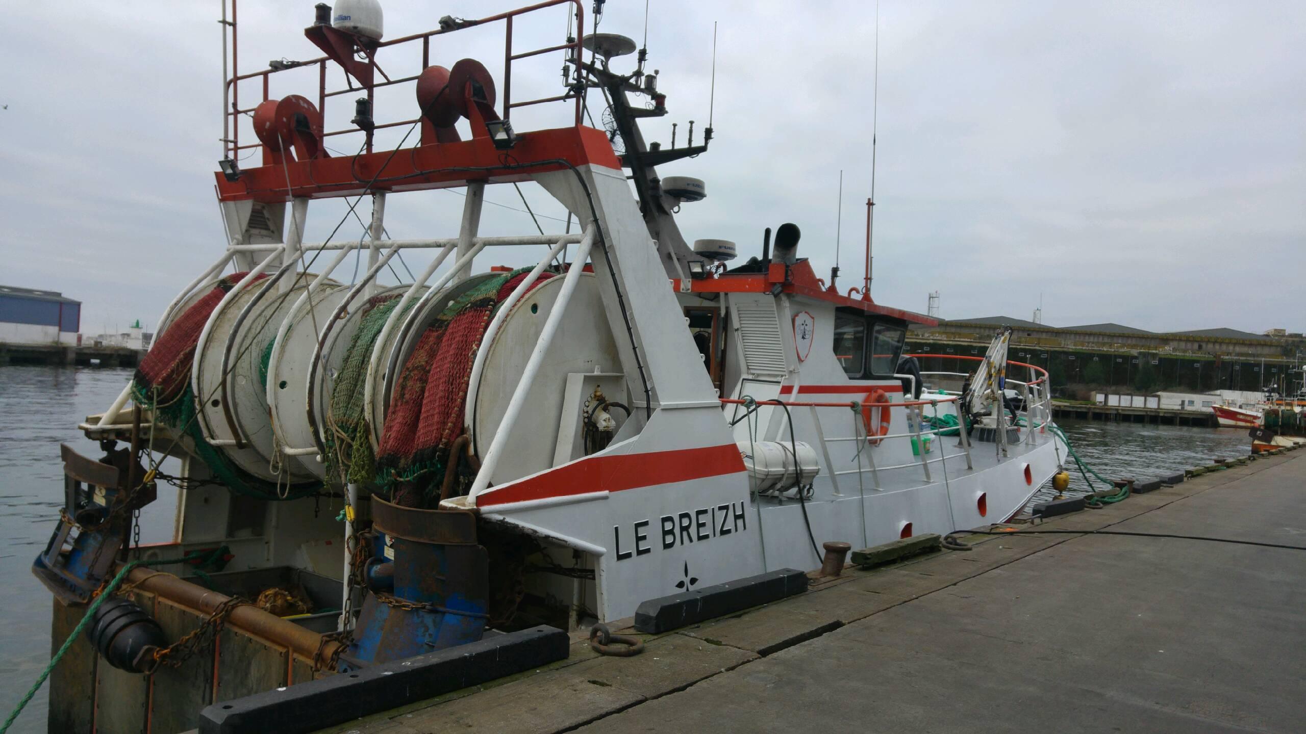 Visite du Port de pêche de Lorient avec les DP2 et DMEP