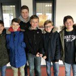 Les jeunes pongistes brillent au championnat scolaire